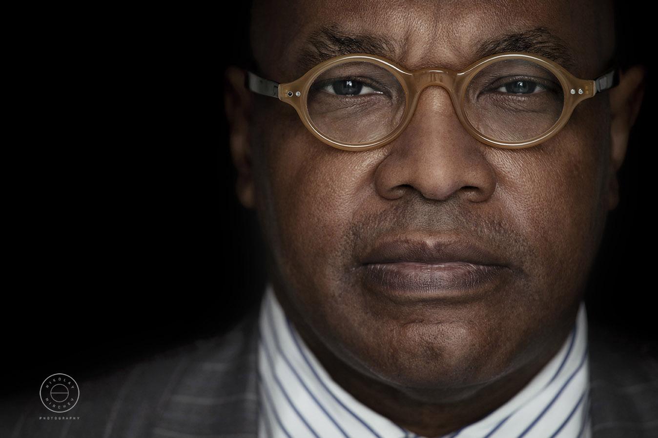 Portrait Photograph of a Client in Brixton London